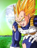 Vegeta damaged by fear229