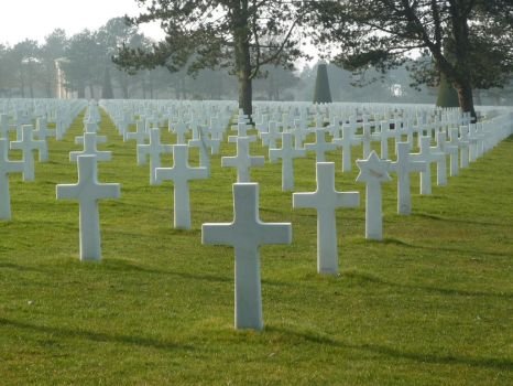 American cementery of Normandy by Moifee