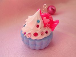 Blueberry Candy Cupcake by Lustfulwish