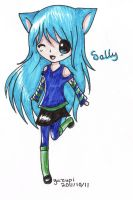 request: sally by yuzupi