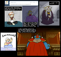 Ask a Zelda Character - Free Time? by pocket-arsenal