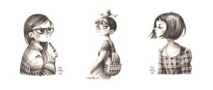 Graphite Girls by Iraville