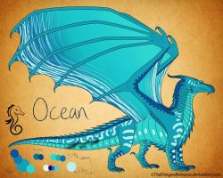 Ocean by Snowleopard-draws