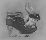 Hellfrog With Shoe by zombiecatfire13