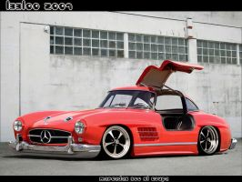 Mercedes Benz 300 SL Coupe by LEEL00