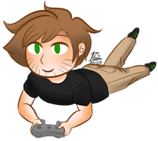 Gavin Gaming by VespaAngelYukino