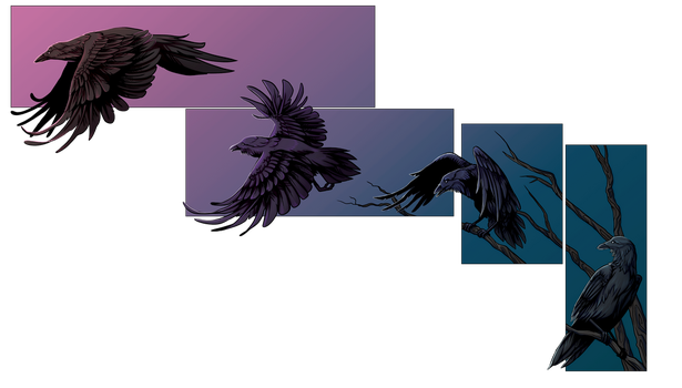 Crows by Silverbloodwolf98