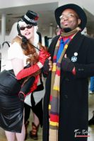 Cruella Devil and The Doctor by ralphbear