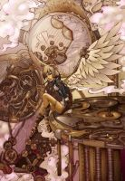 Steam Punk Angel by Laylo-Dred