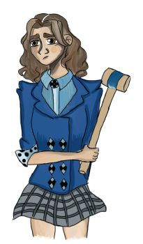 Veronica Sawyer by wildwarriorcat13