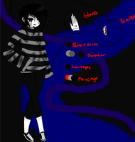 Creepypasta Oc : Artist Ref Sheet by Xx-MayhemOnMisery-xX