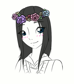 'Cause Flower Crowns Are Awesome by CuteKoi2903