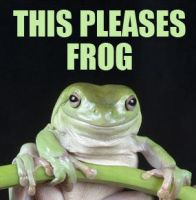 This Pleases Frog by MustLoveFrogs