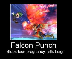 Falcon Punch by Serpent1212