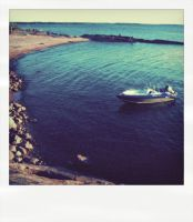 polaroid: boat by blackxcomedy