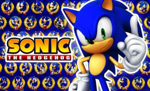 Sonic The Hedgehog - Wallpaper by SonicTheHedgehogBG