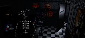 FNAF 2 Backstage(((Fanmade(((Fake by FreddyFredbear
