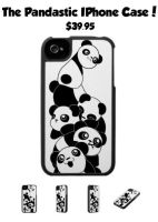 Pandastic iPhone 4 Case by Jellyfish-Station