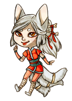 Kitsune chibi adoptable Closed by MayVig