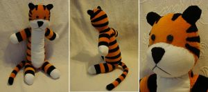 Custom plush - Hobbes by silentorchid
