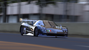 Pagani Zonda LM Race Car by StrayShadows