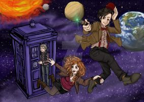 space is unlimited- doctor who by sophira-moonlily
