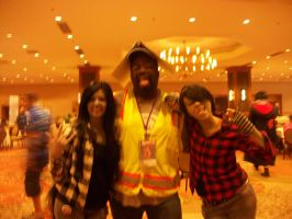 Animefest '12 - Marice, Marshell and Me by TexConChaser