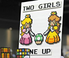 Two Girls, One Up by RaindropsOnRoses21