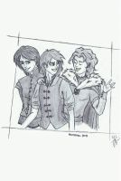 Winterfell boys by spoiledlucrece