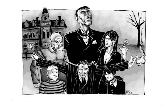 The Addams Family PH by thecreatorhd