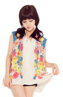 Boram (T-ara) png [render] by Sellscarol