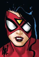 Spider-Woman by Adam Hughes by sean-izaakse