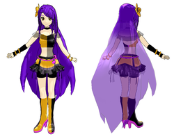 [UTAU] Lizabelle Wave APPEND design model by brsa
