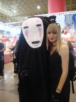 Misa + No-Face by TwistedGrinxo