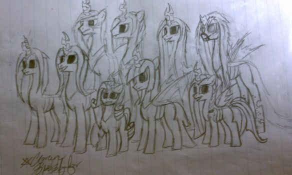 Obsidian's Family by ILoveToothlessALot