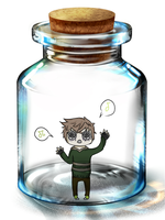 Noah in a bottle by anxiousChemist