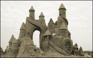 castles made of sand by mattrinehart