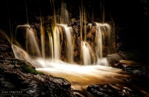 The secret waterfall by BrunoCHATARD