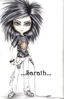 Bill Kaulitz Doll by sarath90
