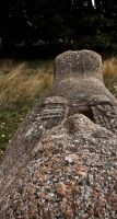 Ancient Egyptian relic in the English Countryside by Xs9nake