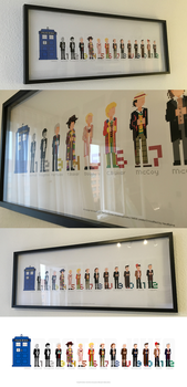 Doctor Who Pixel Art Picture by NeoRame