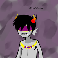 Aiguil Amelle by ZombieHighSchoolKid