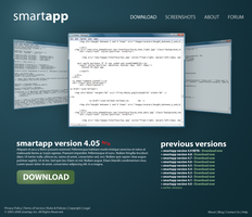 Smartapp template design by jackinnes