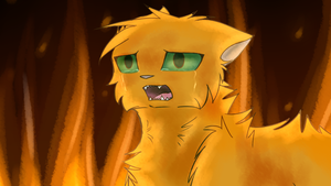 Squirrelflight is not a happy bunny by TheDogzLife