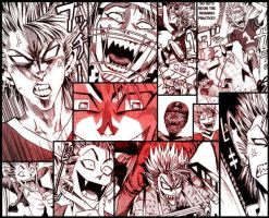 Hiruma_Yoichi_Funny_Faces_I by RandomDudette