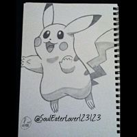 PIKACHU by SoulEaterLover123123