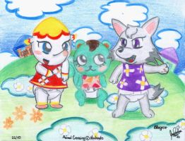 3 Babies by Animal crossing by davidcool1989