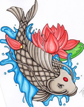 Carp in Full Color by TL1995