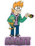 EDDSWORLD - Matt by ENEKOcartoons