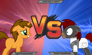 TigerPrincessKaitlyn vs DoomKeiser by Imp344